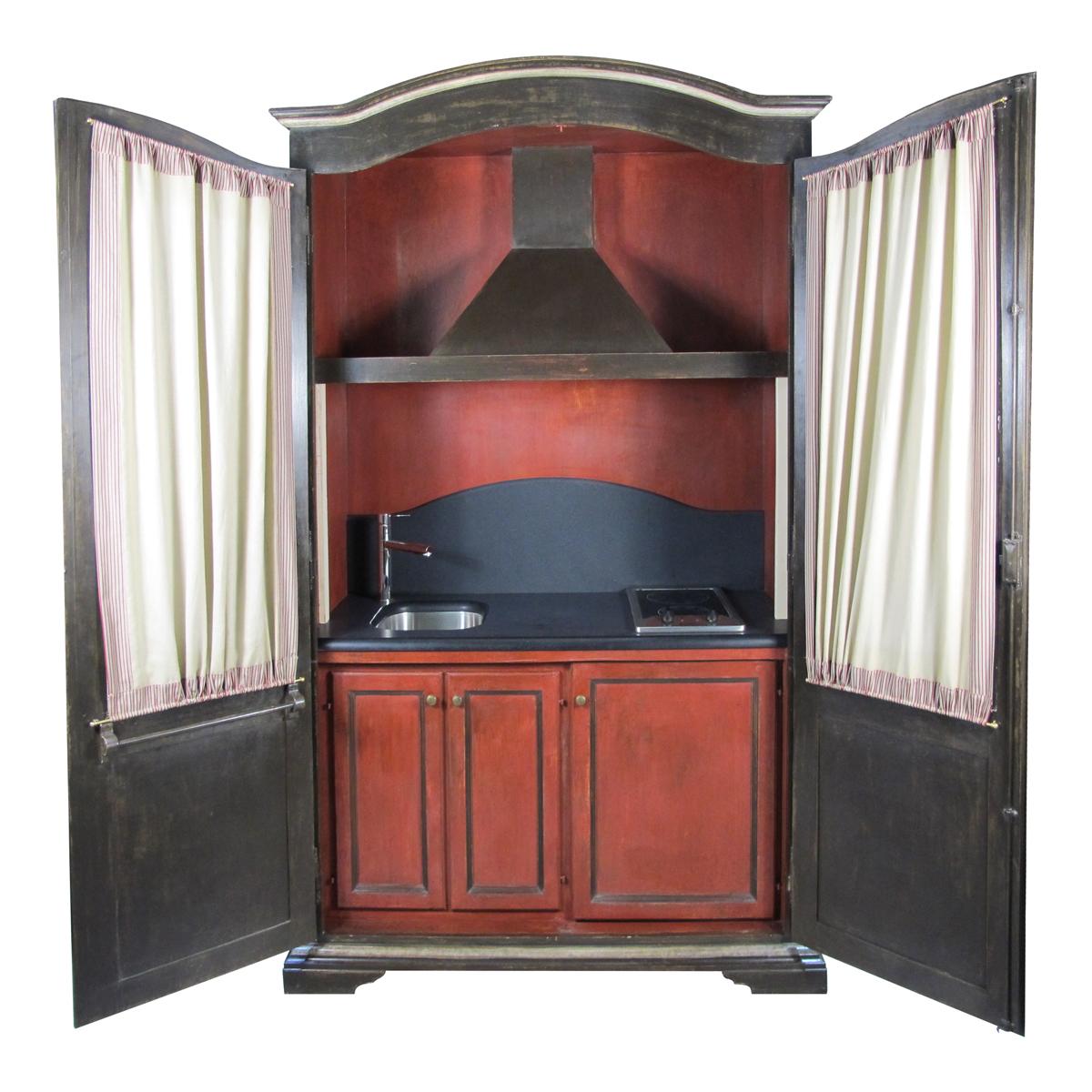 Cucina armadio vittorio grifoni rossi home design for Cucina aperta