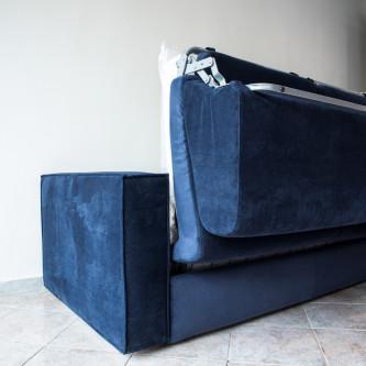 divano-blu-letto-aperto